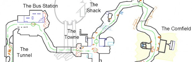 Black Ops II Tranzit Map